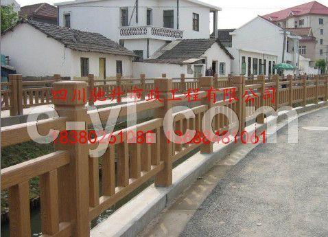 四川驰升仿木栏杆 水泥栏杆品质保证