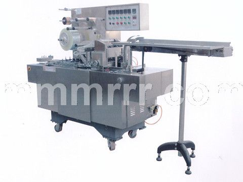 上海品服�C械PF-280型可�{式透明膜三�S包�b�C