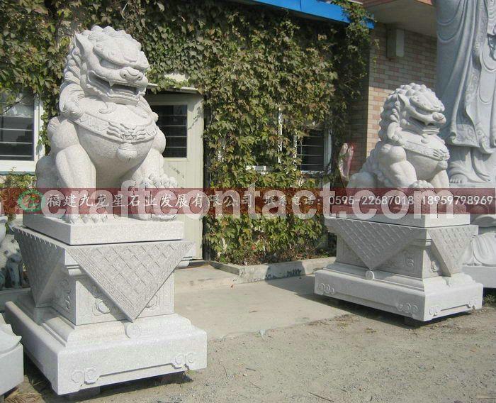 厂家直销石雕狮子 石狮子雕刻 石头狮子 石雕狮子价格