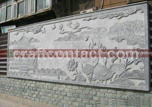 公园广场浮雕壁画 汉白玉石雕雕刻 石雕壁画设计