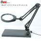 悬臂支架桌面台式放大镜PD127高清玻璃镜片配LED环型光源亮度可调机械臂万向可调PDOK工作台灯