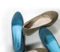 厂家直销2012新款正品纤百娇布面豹纹内增高舒适时尚女鞋