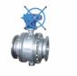 蜗轮传动铸钢固定球阀Q347F