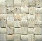 锣头石材马赛克黄白洞石——JDM50-2L