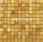 常规石材马赛克-光面黄光洞——JDM23-4M28